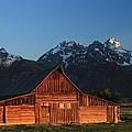Historic Moulton Barn by Nancy Wolfe