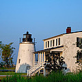 Historic Piney Point Lighthouse by Bill Cannon
