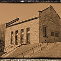 Historic Power Sepia by Bonfire Photography