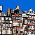 Historic Rennes by Jane Rix