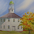 Historic Richmond Round Church by Mary Ellen Mueller Legault