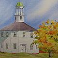 Historic Richmond Round Church by Mary Ellen Mueller Legault