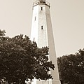 Historic Sandy Hook Lighthouse by Anthony Sacco