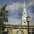 Historic Savannah Church by Judy Hall-Folde