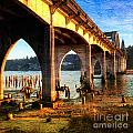 Historic Siuslaw River Bridge by Charlene Mitchell