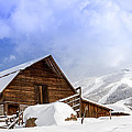 Historic Steamboat Springs Barn And Ski Area by Teri Virbickis
