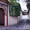 Historic Street At Albaycin In Granada' by Guido Montanes Castillo