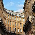 Historic Tenement Houses In Budapest by Artur Bogacki