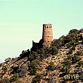 Historic Tower Of Grand Canyon by John Potts