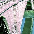 Historic Venice Canal Bridge In California Falling Apart In 1970. by Robert Birkenes