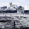 Historic Venice Pier In California Burned Down Over 40 Years Ago - Home To Lawrence Welk's Tv Show. by Robert Birkenes
