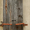 Historic Window Shutters by Terry Cobb