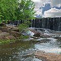 Historic Yates Mill Dam - Raleigh N C by Paulette B Wright