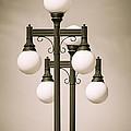 Historic Ybor Lamp Posts by Carolyn Marshall