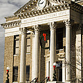 Historical Athens Alabama Courthouse Christmas by Kathy Clark