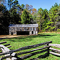 Historical Cantilever Barn At Cades Cove Tennessee by Kathy Clark