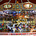 Historical Carousel In Tennessee by Kathy  White