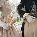 Historical Couple Arm In Arm by Lee Avison