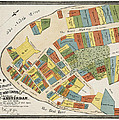 Historical Map Of Manhattan by Andrew Fare