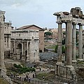 Historical Ruins by Fraida Gutovich