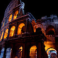 Historical Shapes In The Night by Alessandro Della Pietra
