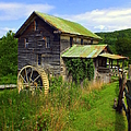 Historical Whites Mill by Karen Wiles