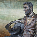 History - Abraham Lincoln Contemplates -  Luther Fine Art by Luther Fine Art
