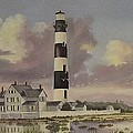 History Of Morris Lighthouse by Wanda Dansereau