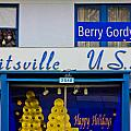 Hitsville Usa And Berry Gordy Sign by John McGraw