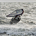 Hitting A Wave 2 by William Selander