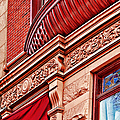 Hoboken Brownstone Art by Regina Geoghan