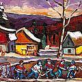 Hockey 4 by Carole Spandau