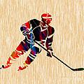 Hockey Player by Marvin Blaine