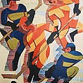 Hockey  Players by Pg Reproductions
