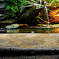 Hocking Hills Waterfall by Optical Playground By MP Ray