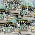 Hofburg Palace Dome by Joan Carroll