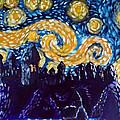 Hogwarts Starry Night by Jera Sky