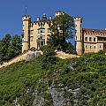 Hohenschwangau Castle by Radka Linkova