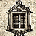 Hohes Schloss Window by Marcia Colelli