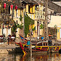 Hoi An Fishing Boat 02 by Rick Piper Photography