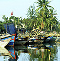 Hoi An Fishing Boats 01 by Rick Piper Photography