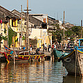 Hoi An Fishing Boats 02 by Rick Piper Photography