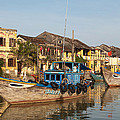 Hoi An Fishing Boats 03 by Rick Piper Photography
