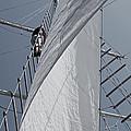 Hoisting The Mainsails by Jani Freimann
