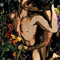 Holding Your Flower - 2 by John Waiblinger