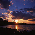 Holga Sunset by Sarah Dowd