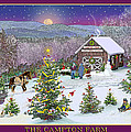 Holiday At Campton Farm New Hampshire by Nancy Griswold