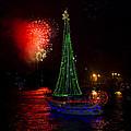 Holiday Boat Parade by Arthur Dodd