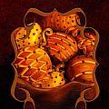 Holiday Citrus Bowl Iphone Case by Iris Richardson