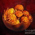 Holiday Citrus Bowl  by Iris Richardson